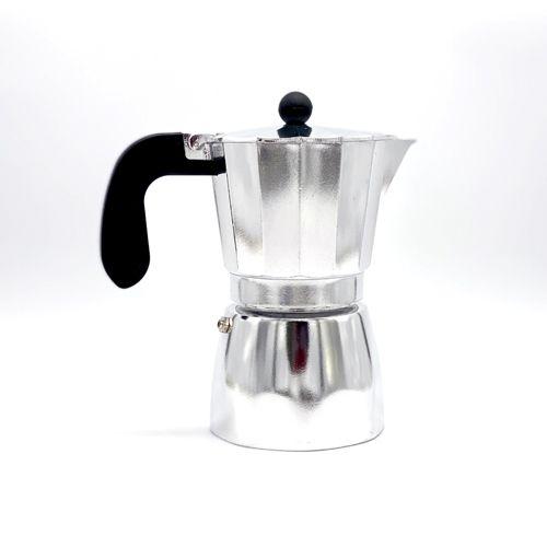 Cafetera italiana Oroley de aluminio