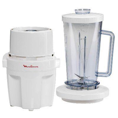 picadora de alimentos moulinex con vaso batidor de 1,25 litros