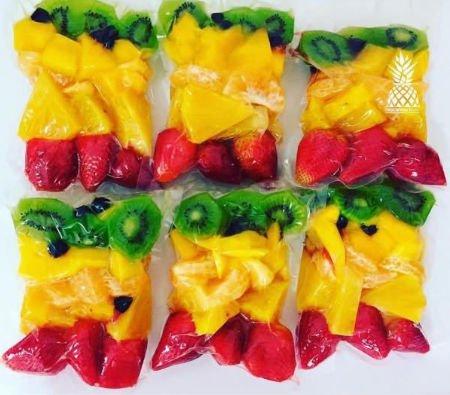 envasar frutas al vacío con envasadora