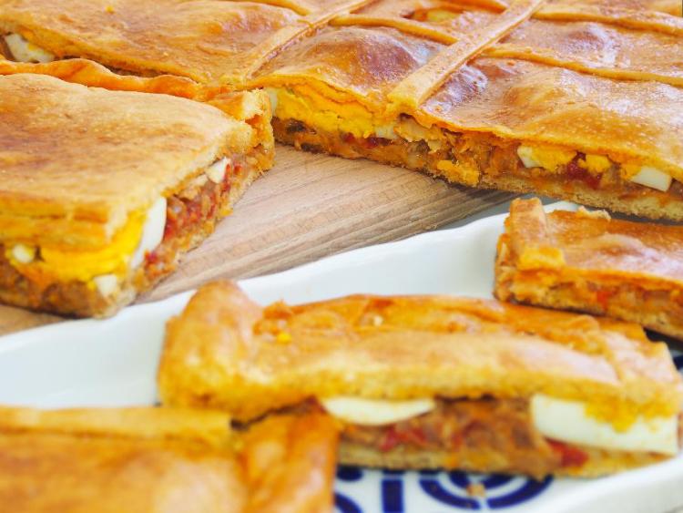 masa de empanada gallega tradicional