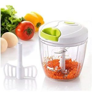 Mini picador batidor manual para verduras Thulos