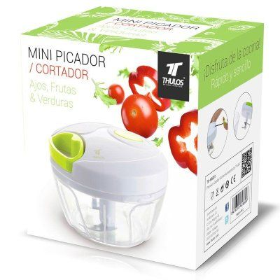 Mini cortador manual de arrastre Thulos para verduras