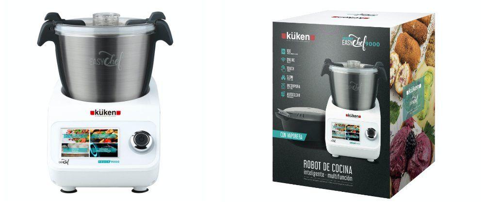 robot de cocina inteligente EasyChef 9000