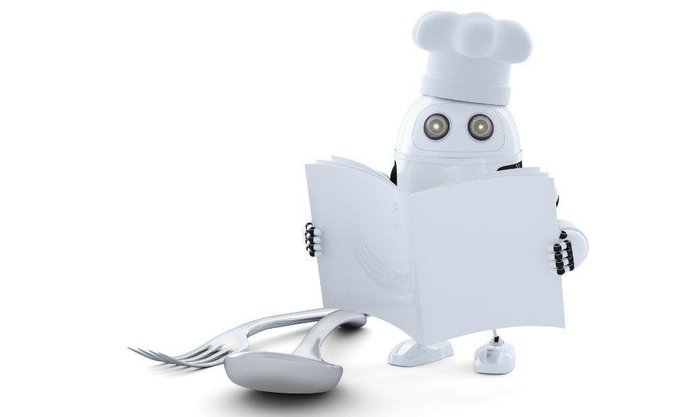 robot inteligente para cocinar