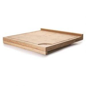 Tabla de corte reversible de bambú